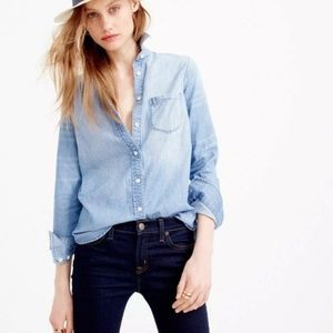 J. Crew Mercantile | Chambray Button Up Shirt